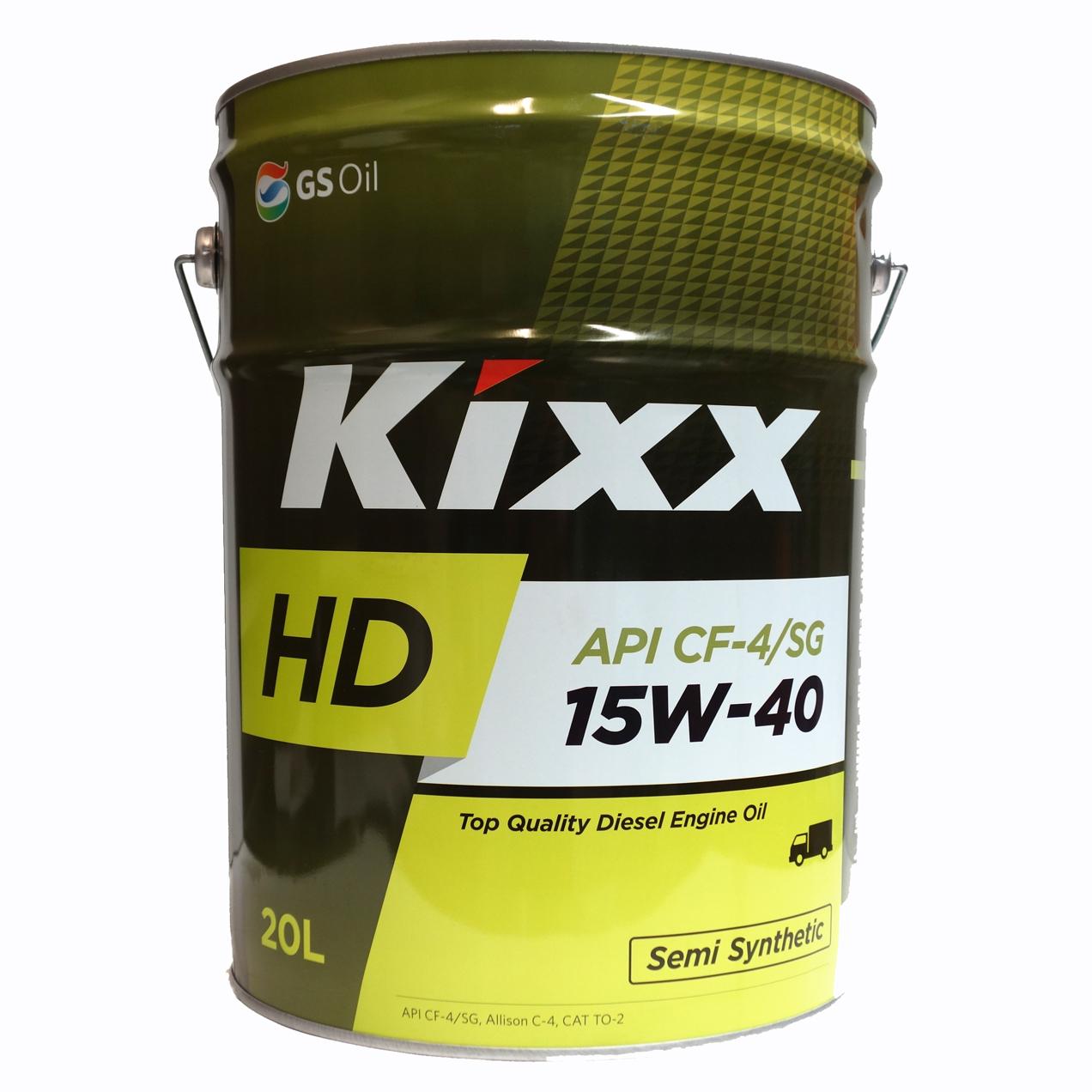 Kixx HD 15W-40 & 20W-50 API CF-4